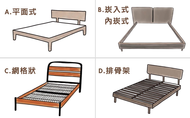 晚安奈特-各式床架款式