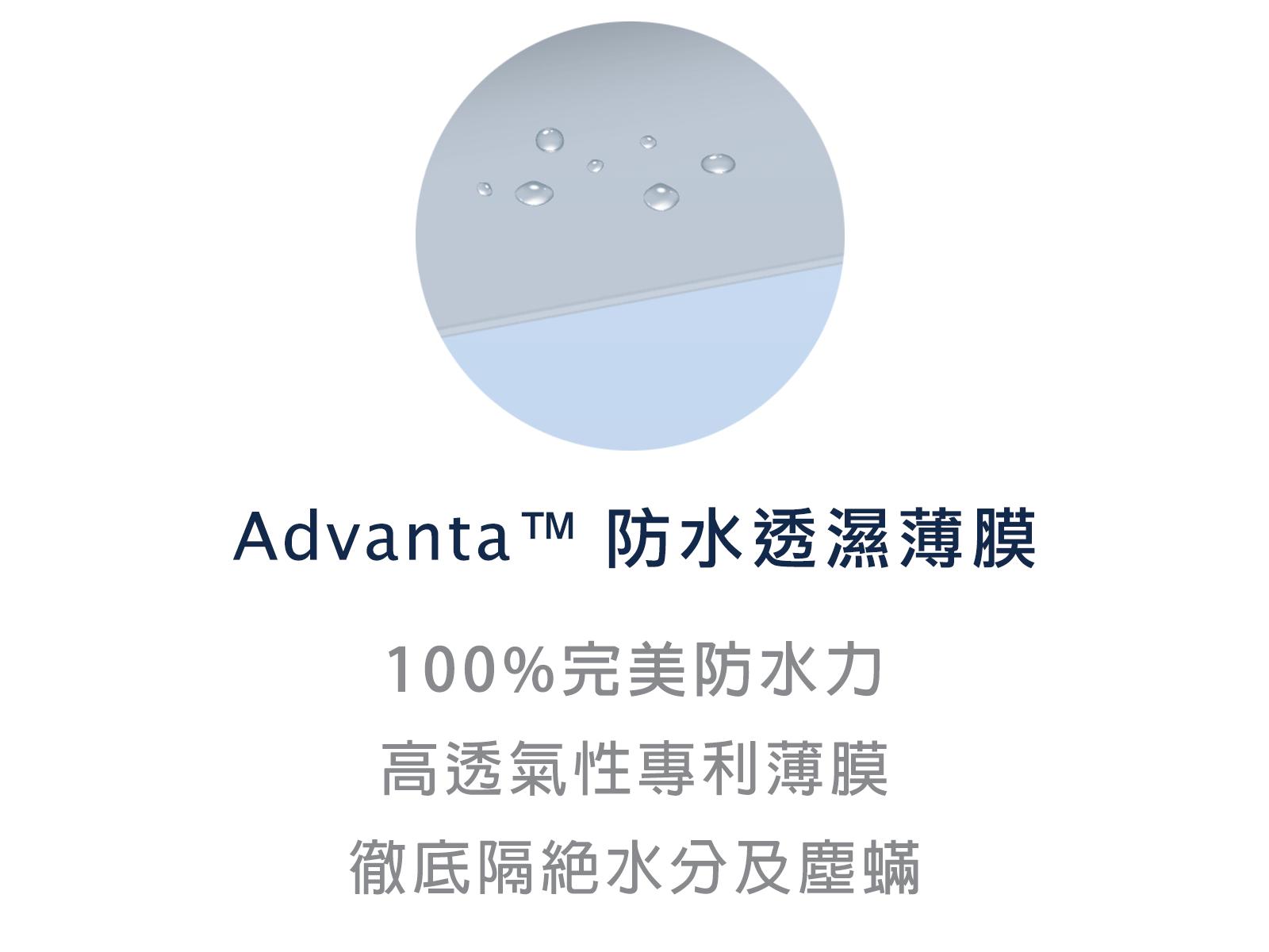 晚安奈特-防水保潔墊-advanta防水膜